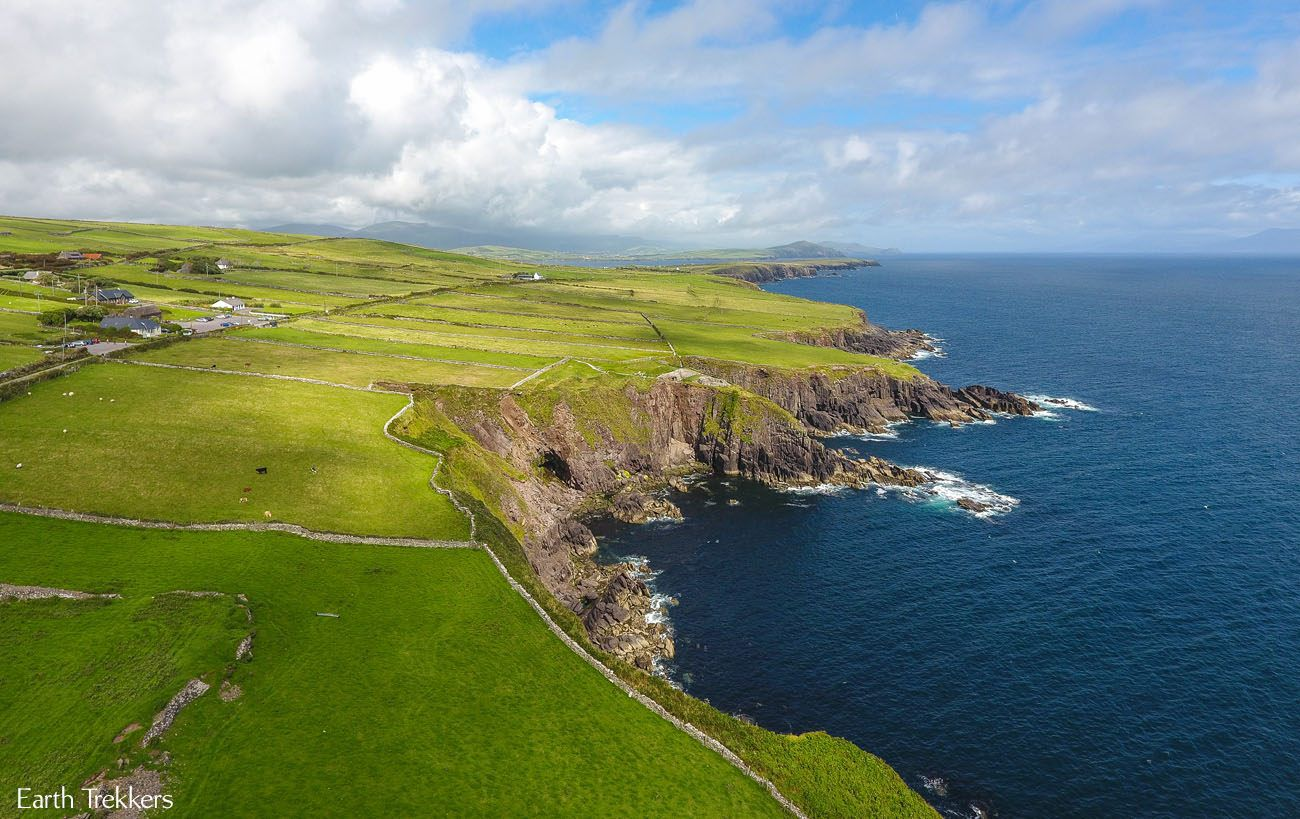 Flying Over Ireland with a Drone