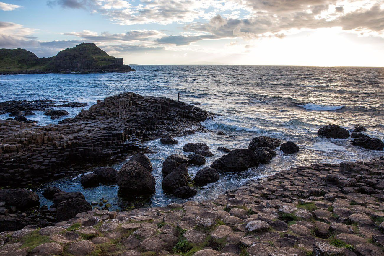 Giants Causeway Silhouette