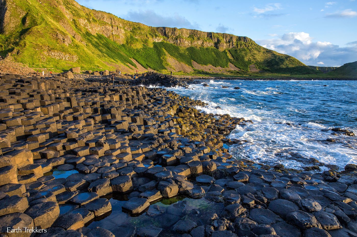 Giant's Causeway in August