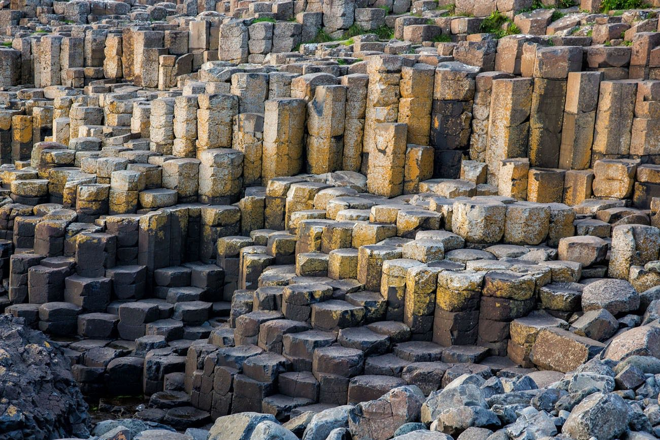 Giants Causeway stones