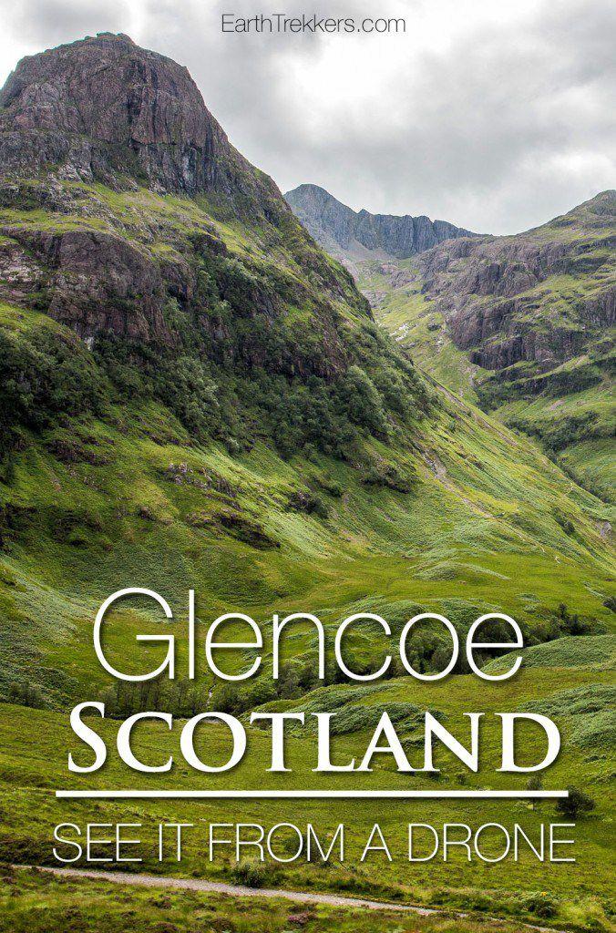 Glencoe Scotland Drone Photos