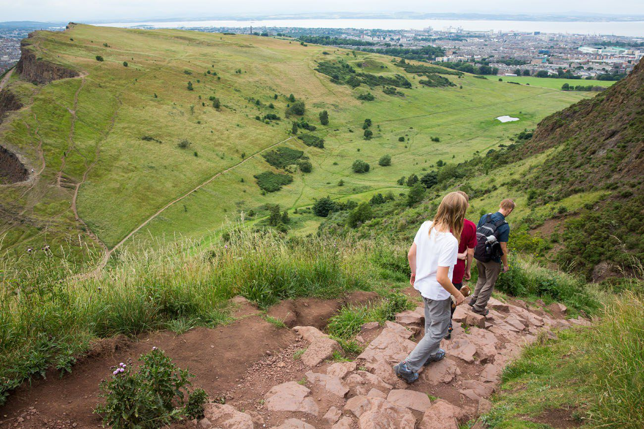 Hike Arthur's Seat with Kids