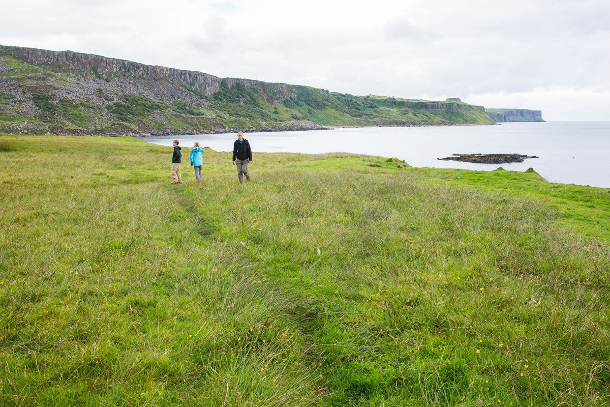 Hiking with Kids Isle of Skye