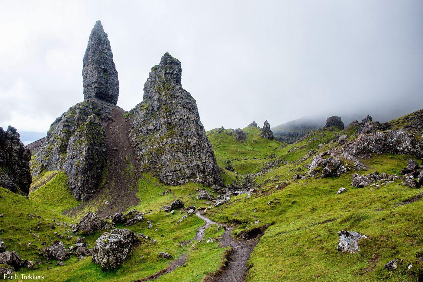 The Old Man Of Storr Isle Of Skye Scotland Earth Trekkers