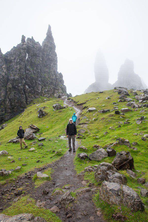 Isle of Skye in the rain