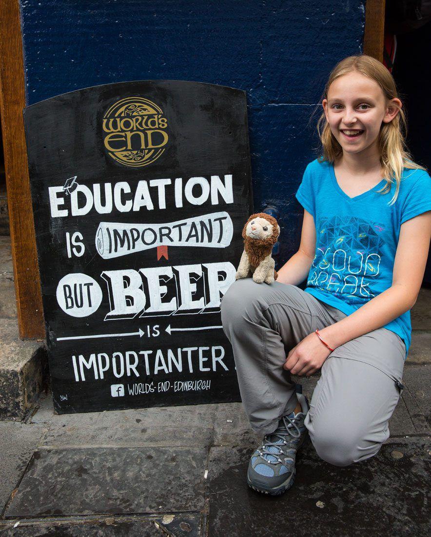 Kids in Edinburgh