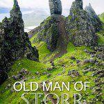 Old Man of Storr on Isle of Skye
