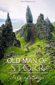 Old Man of Storr on Isle of Skye
