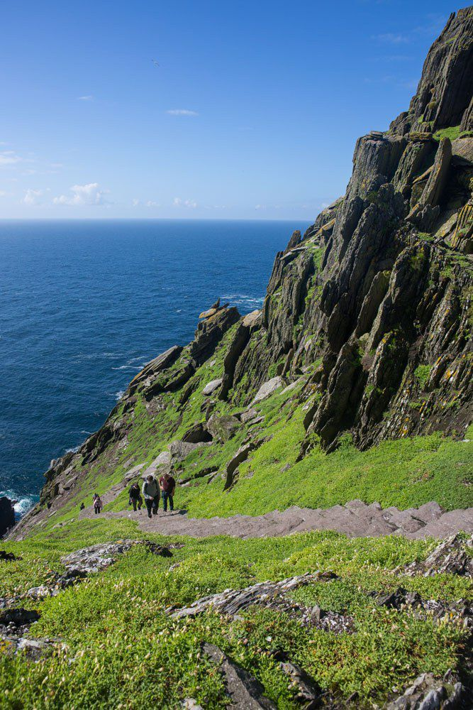 Path up Skellig Michael