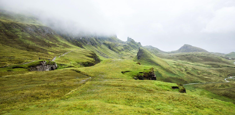 Quiraing hike rain