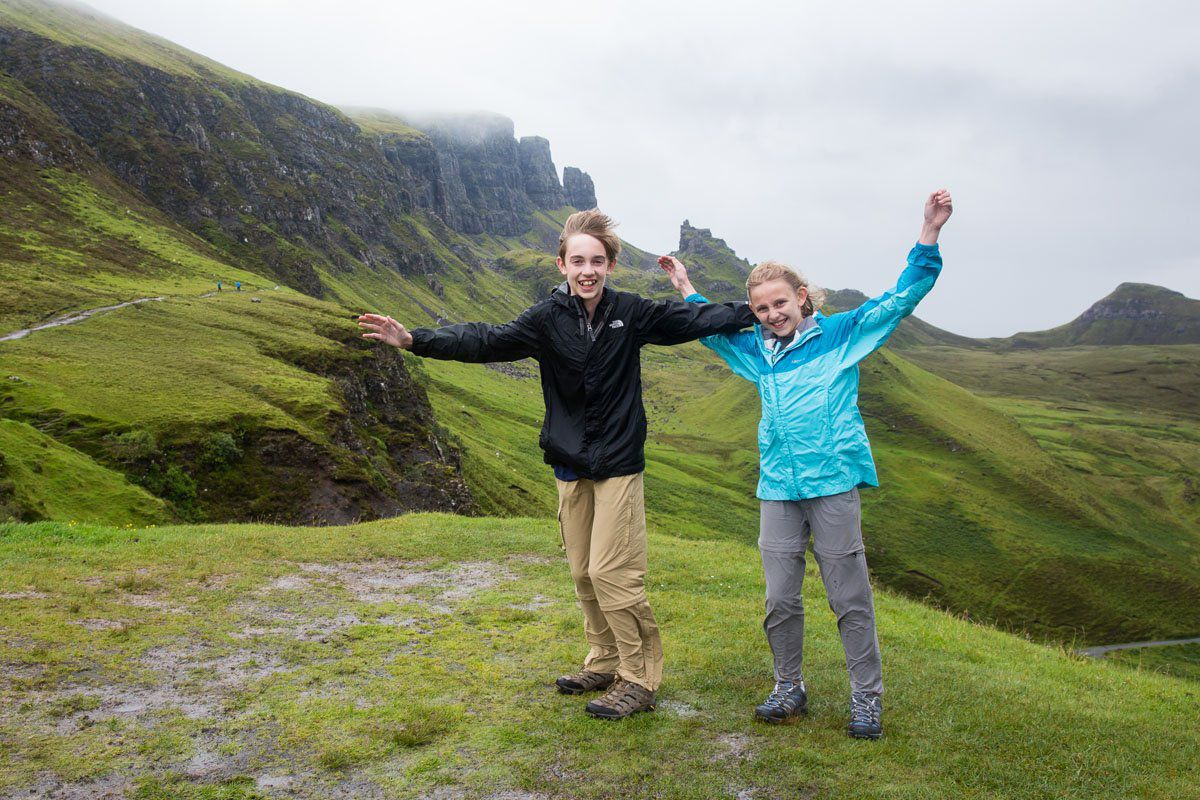 Quiraing with Kids