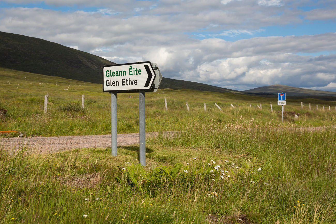 Road to Glen Etive