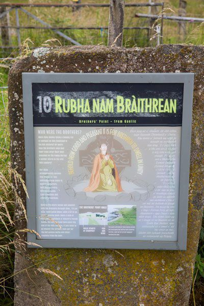 Rubha nam Braithrean parking