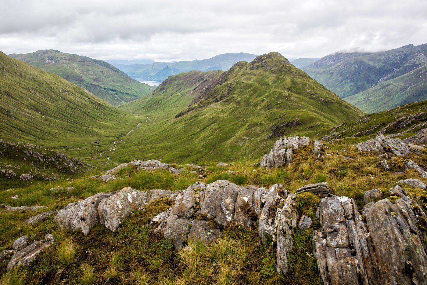 Bagging Munros Scotland