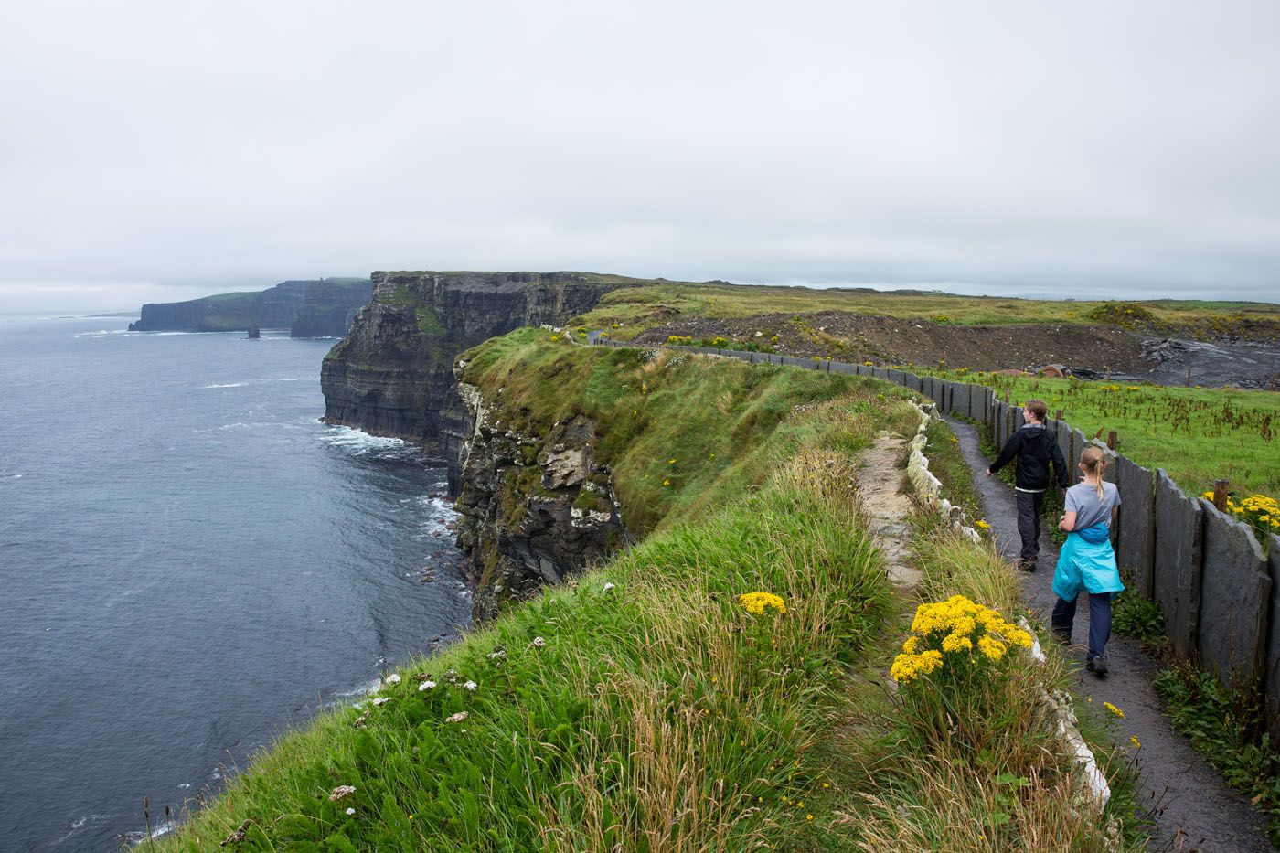Cliffs of Moher family travel