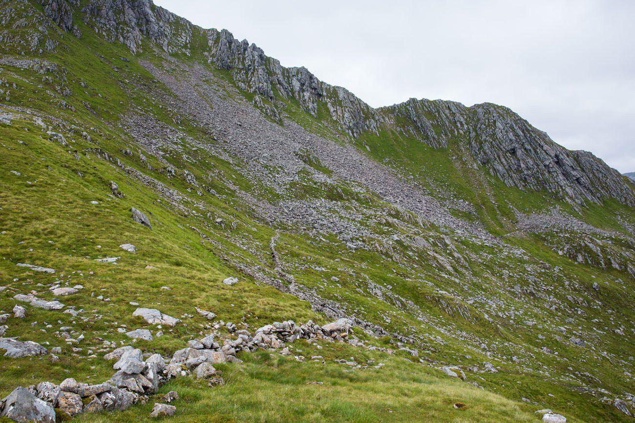 Forcan Ridge Alternative Route