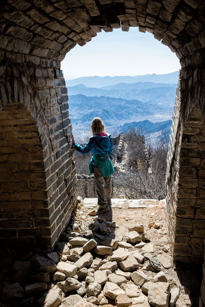 Great wall with kids