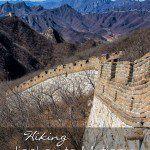 Hiking Jiankou to Mutianyu Great Wall of China