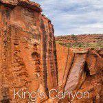 Hiking Kings Canyon Rim Walk Australia