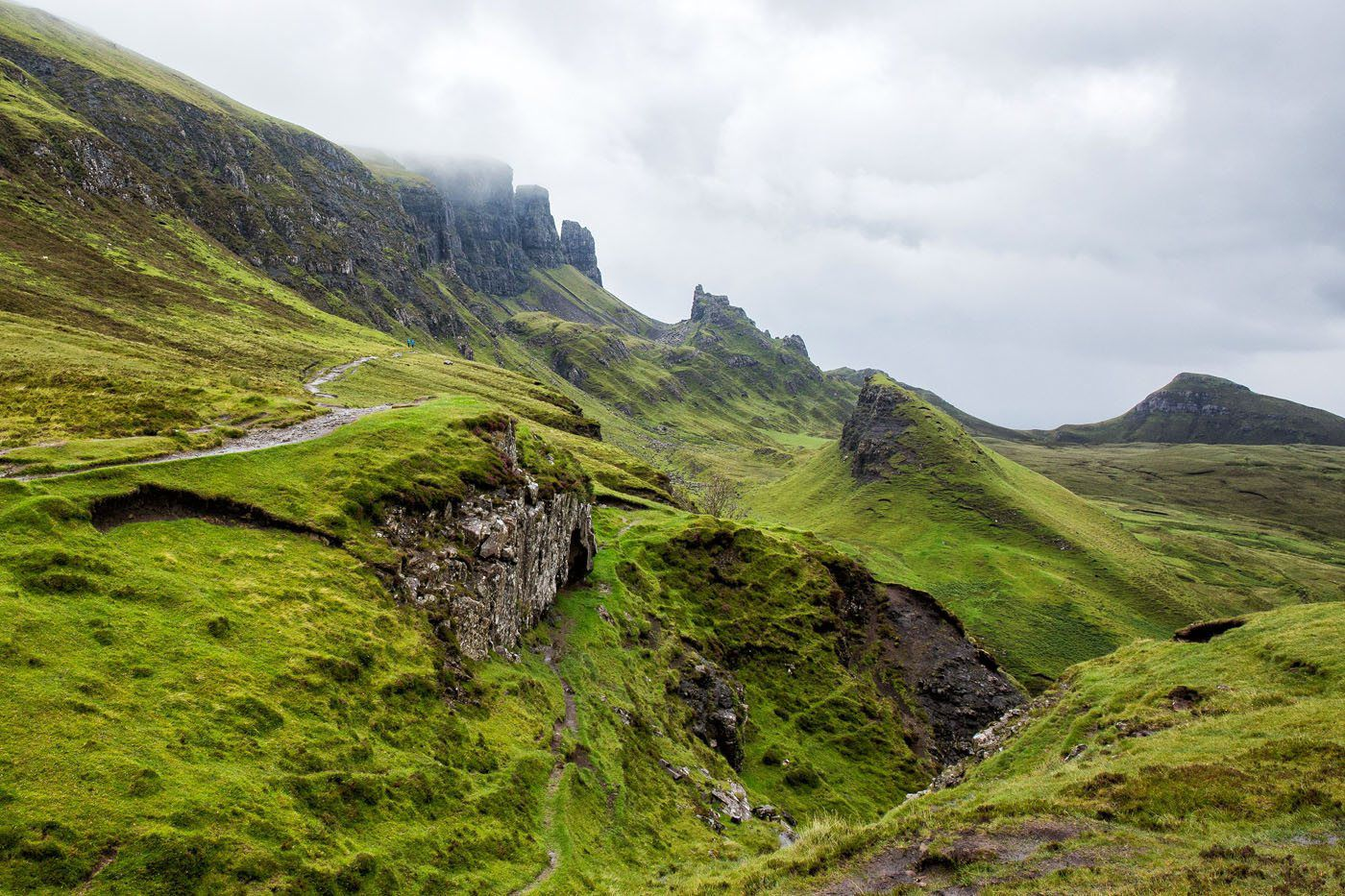 Hiking Quiraing