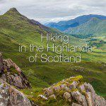 Hiking in the Highlands of Scotland: Kintail Saddle