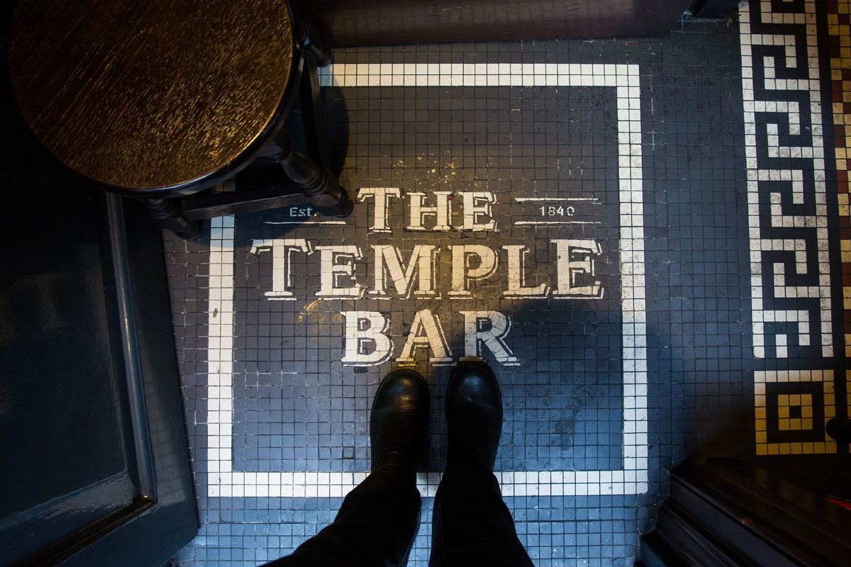 Inside Temple Bar