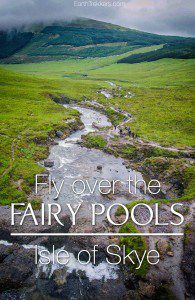 Isle of Skye Drone Fairy Pools