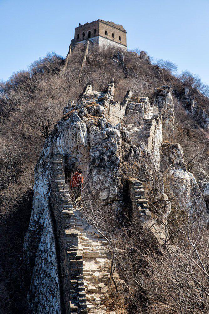 Jiankou Great Wall of China
