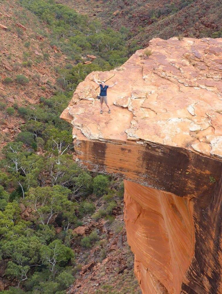 Julie in Kings Canyon