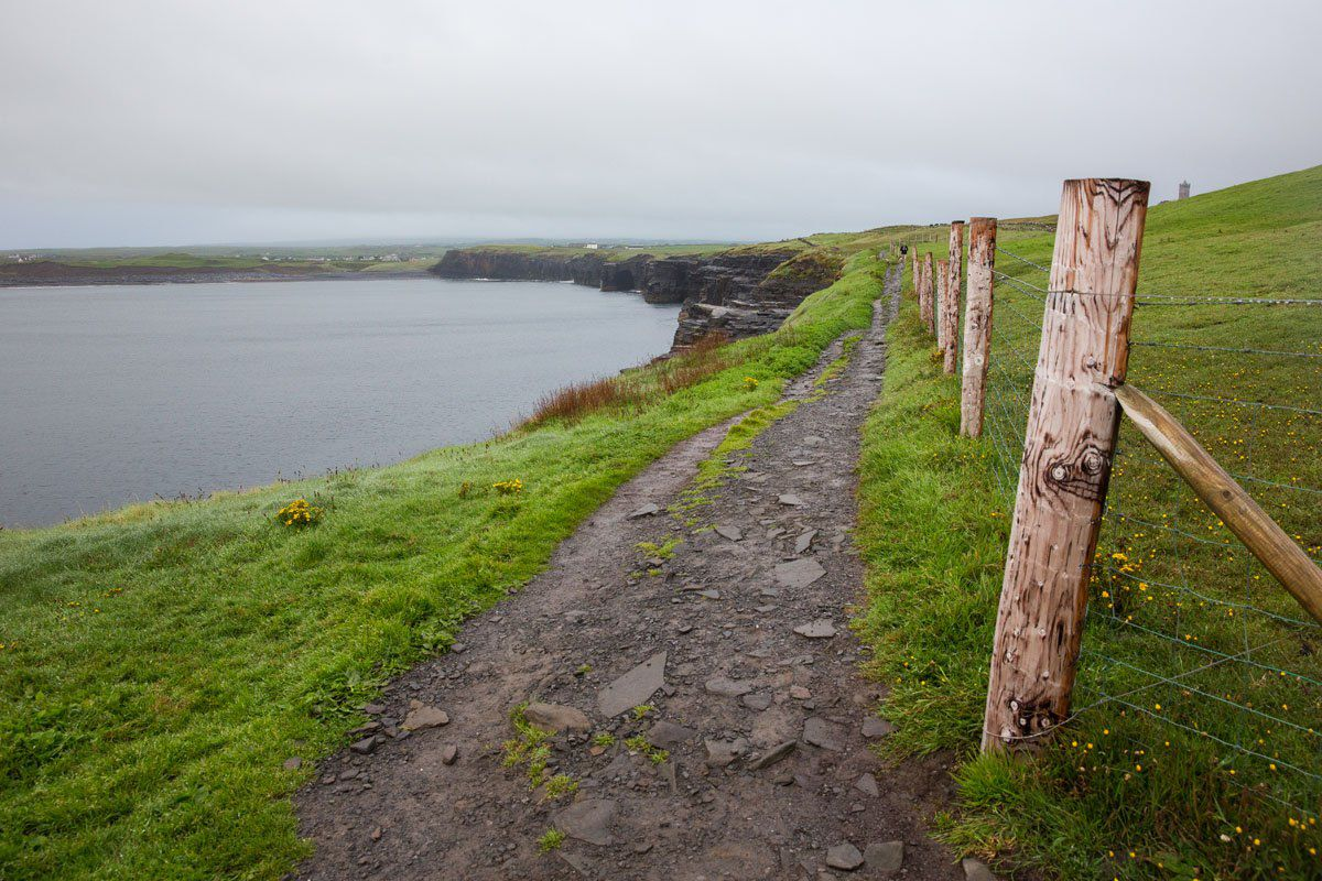 Looking back to Doolin