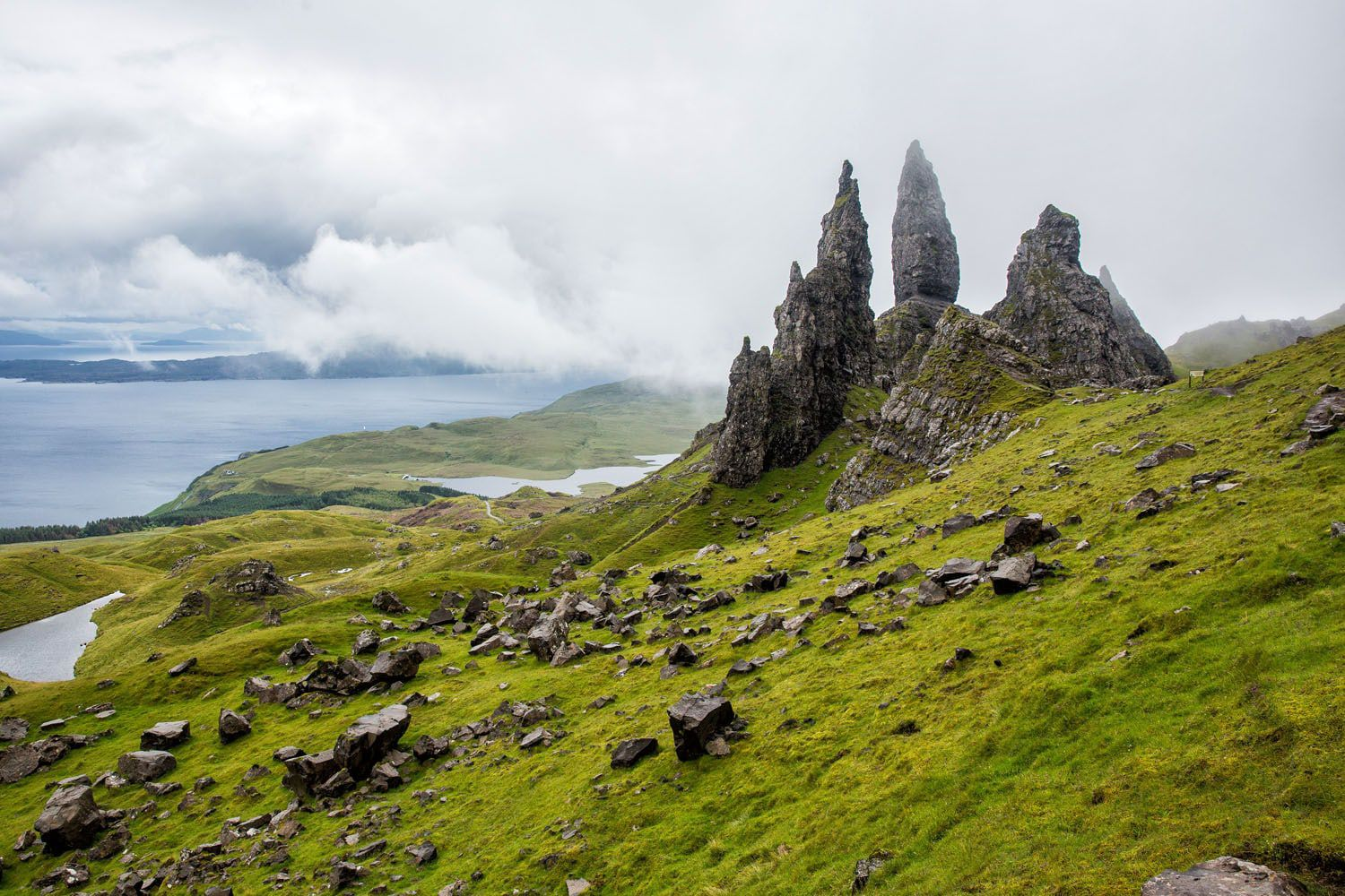 Isle of Skye Itinerary Old Man of Storr