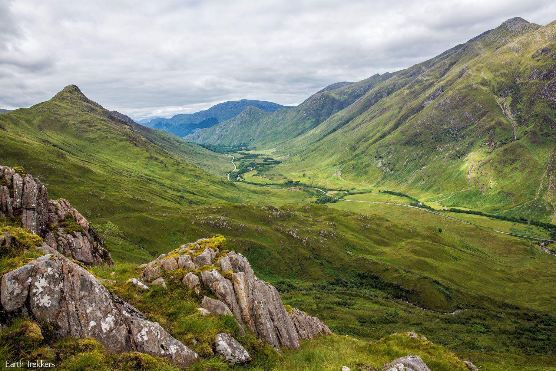 Scotland hike with kids