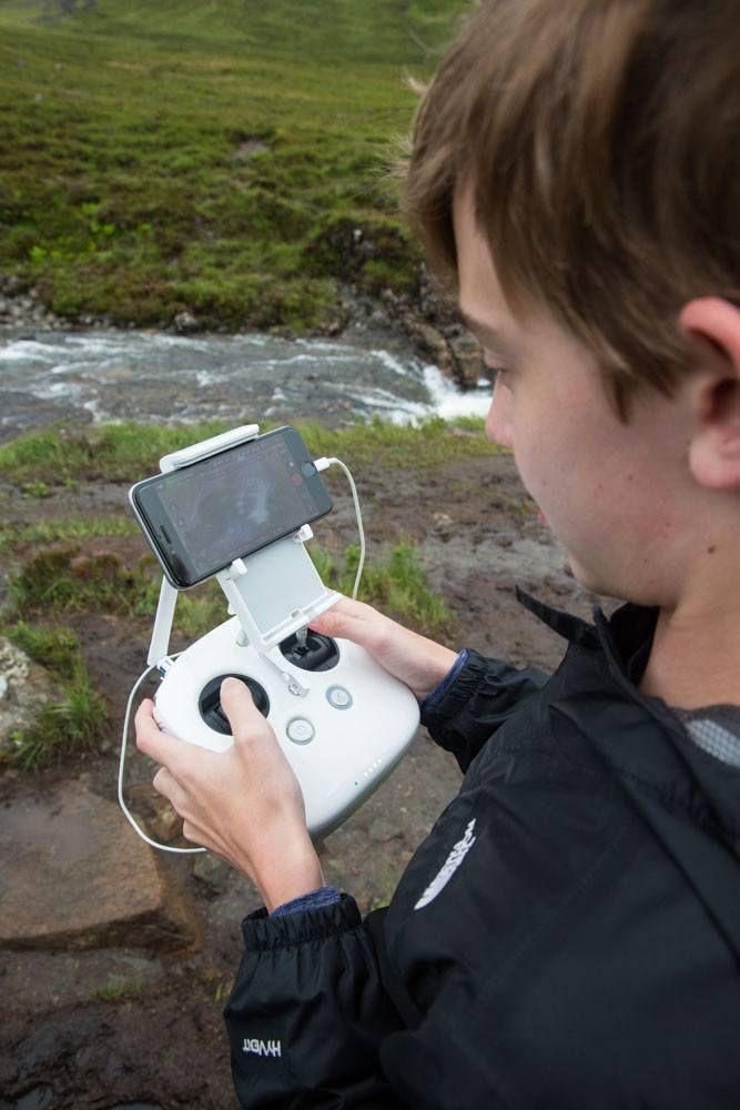 Tyler Rivenbark Drone Pilot