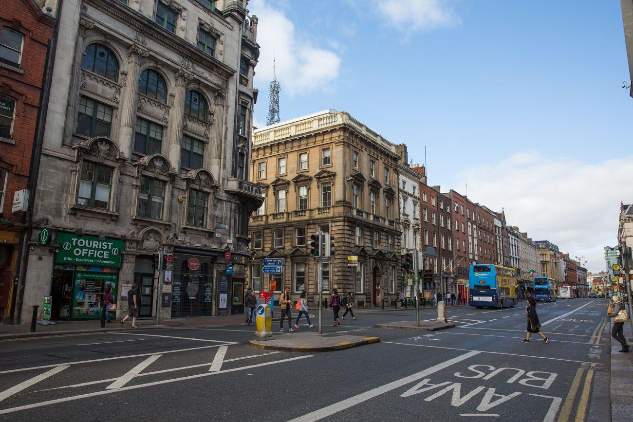 Walking Through Dublin