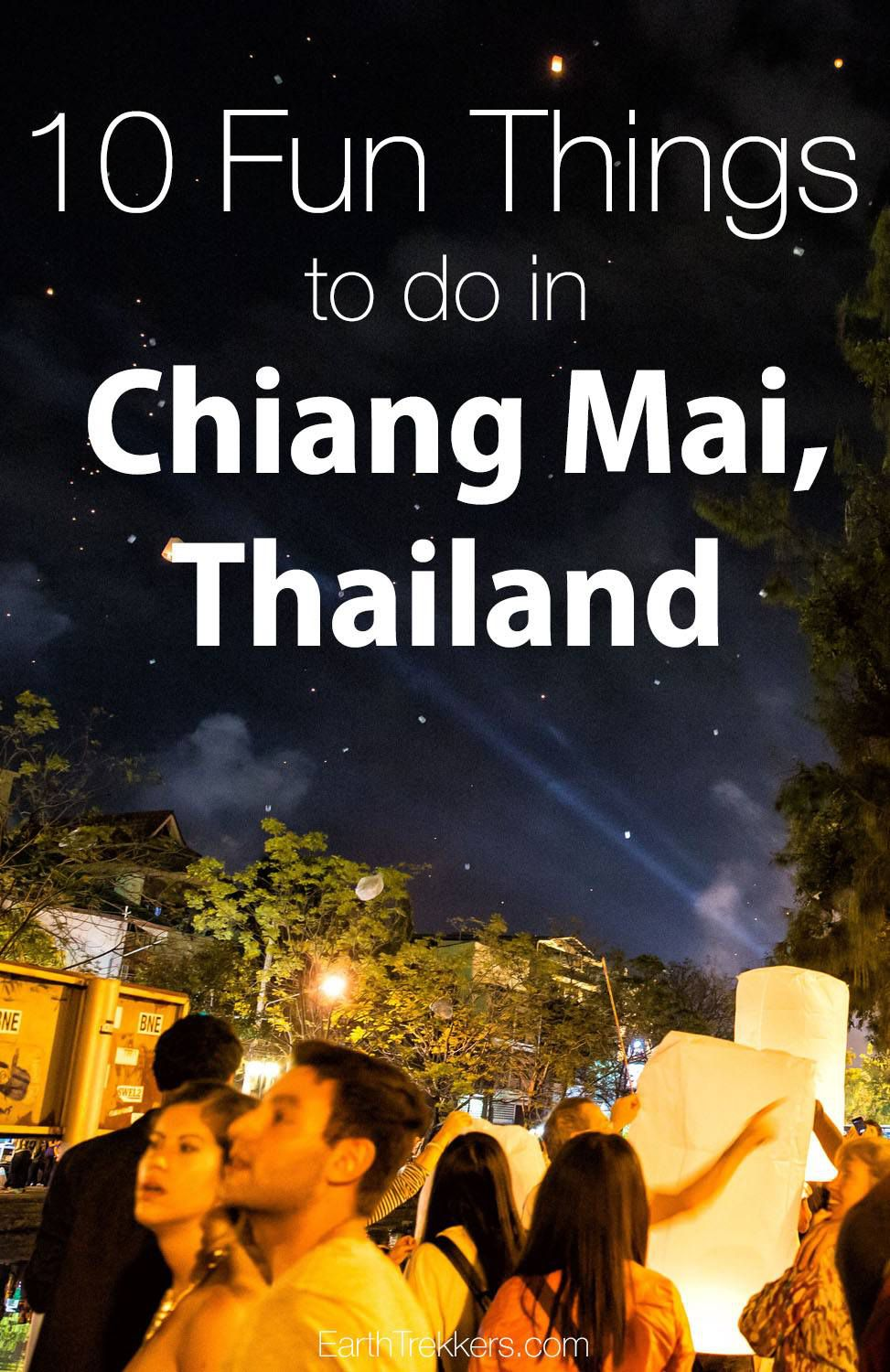 10 fun things to do in Chiang Mai Thailand