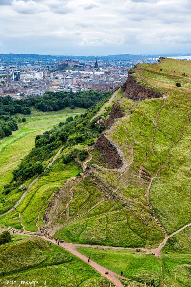Arthurs Seat Edinburgh View