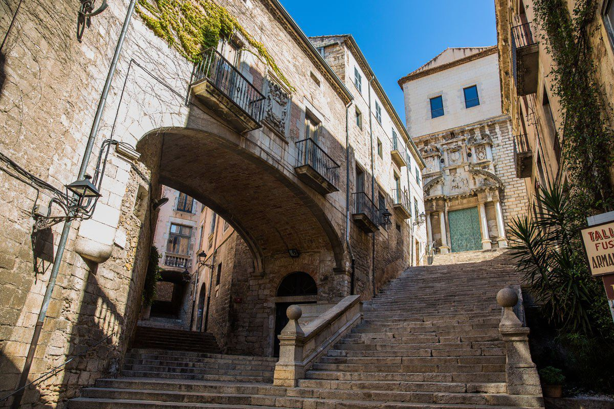 Arya steps Game of Thrones Girona