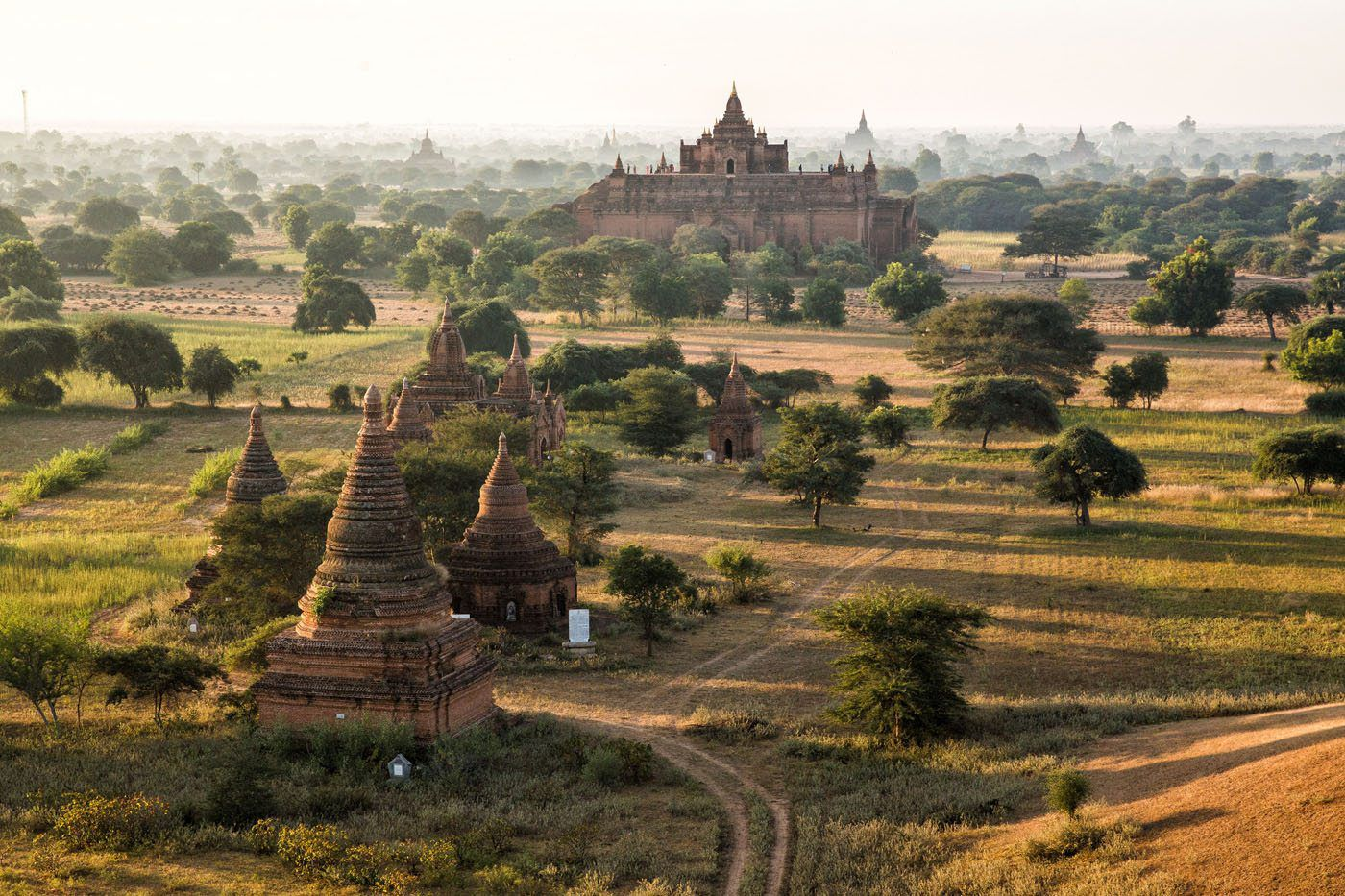 Bagan Balloon Myanmar