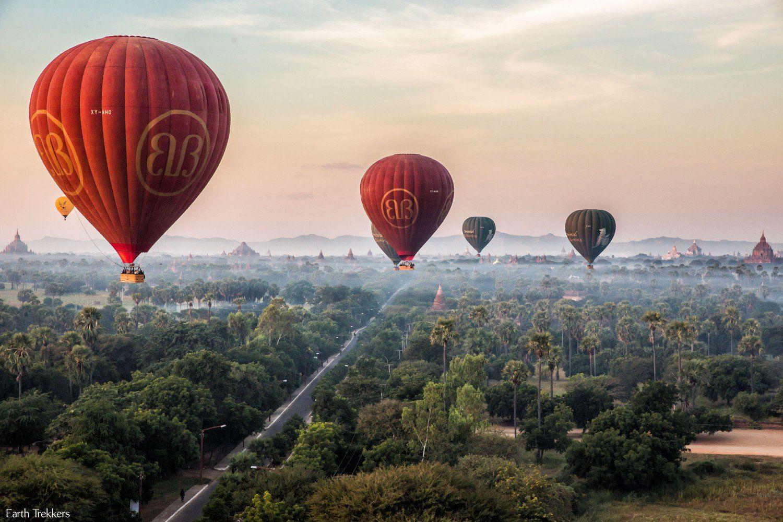 Bagan Balloon Ride