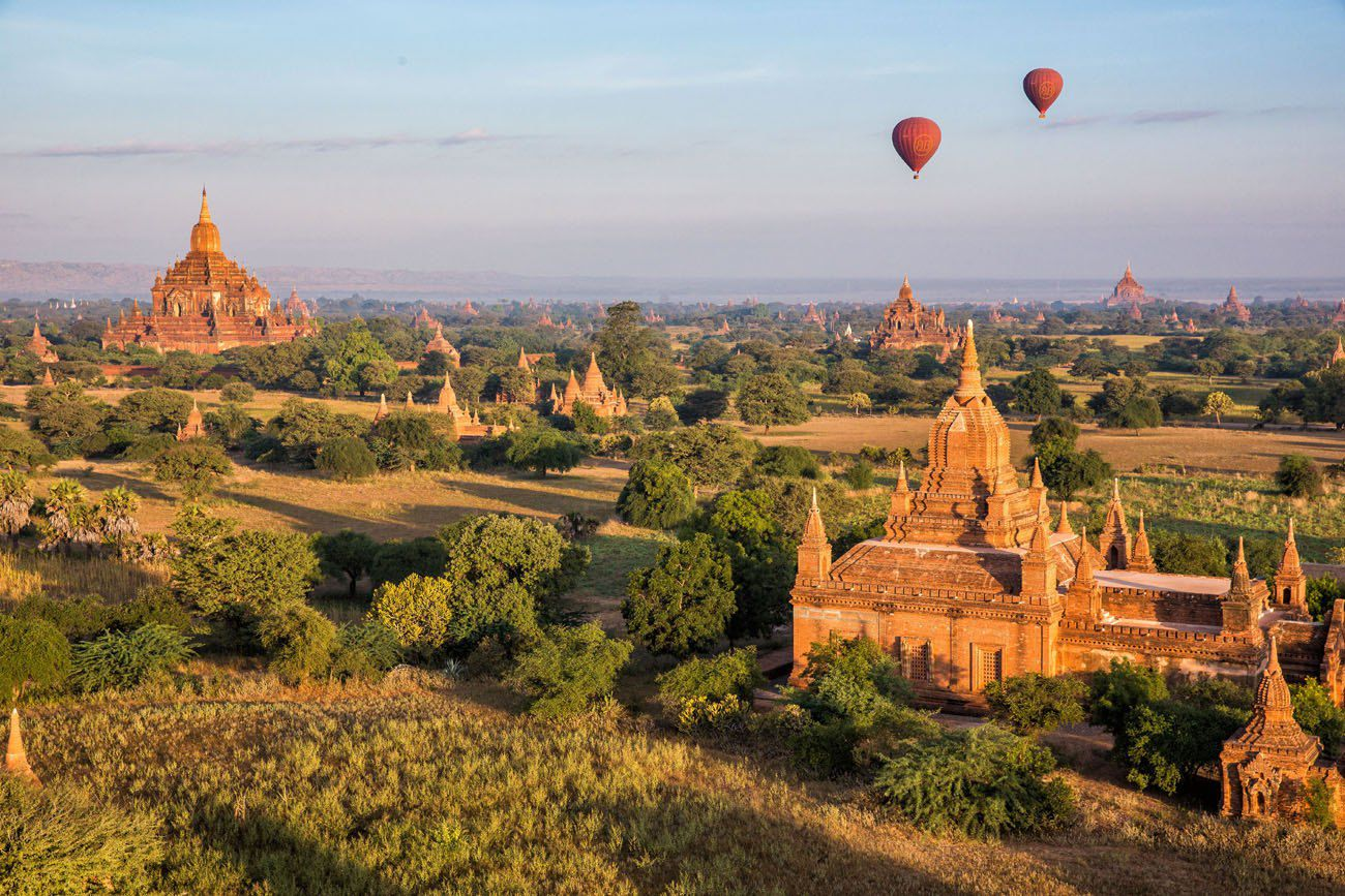 Bagan Balloon sunrise