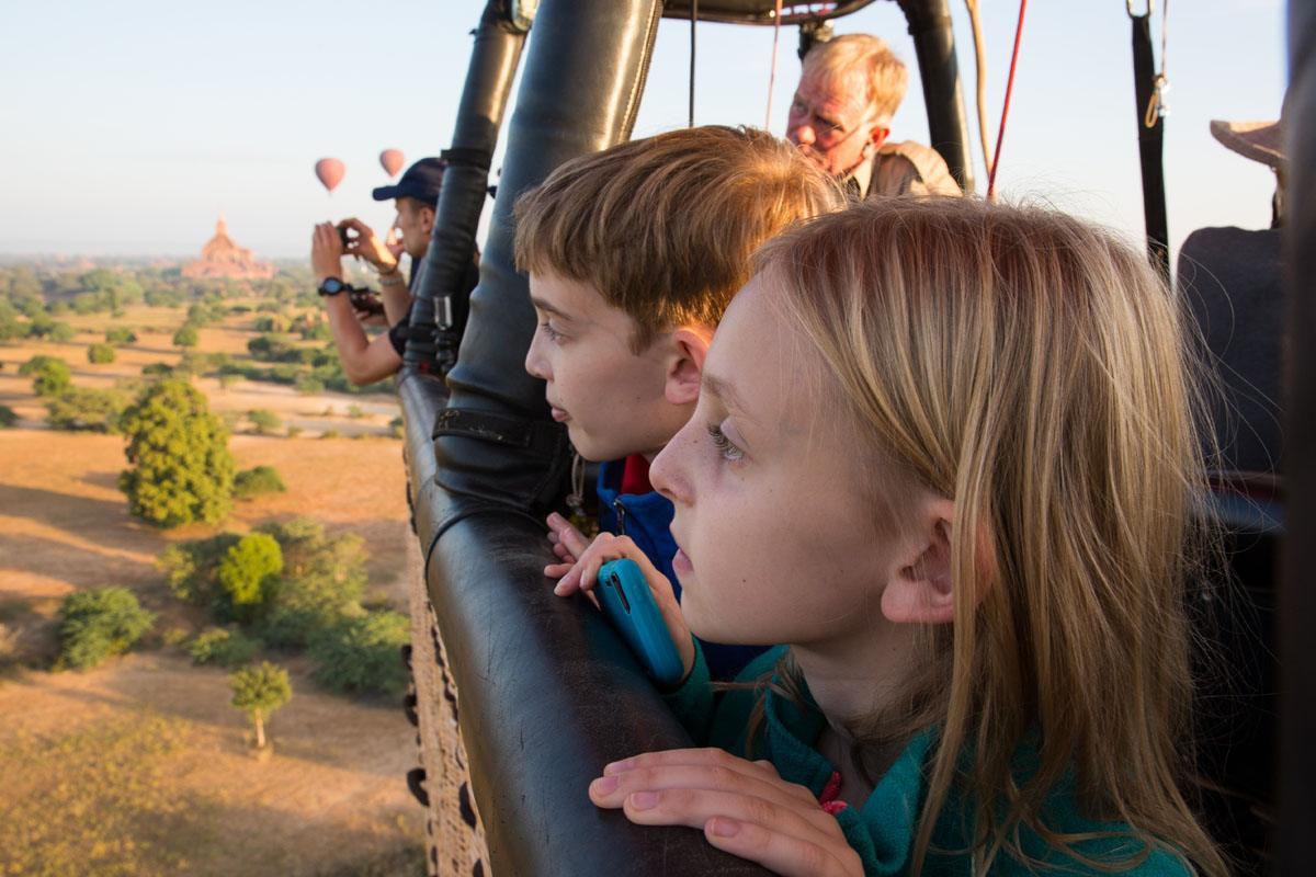 Bagan Balloon with Kids