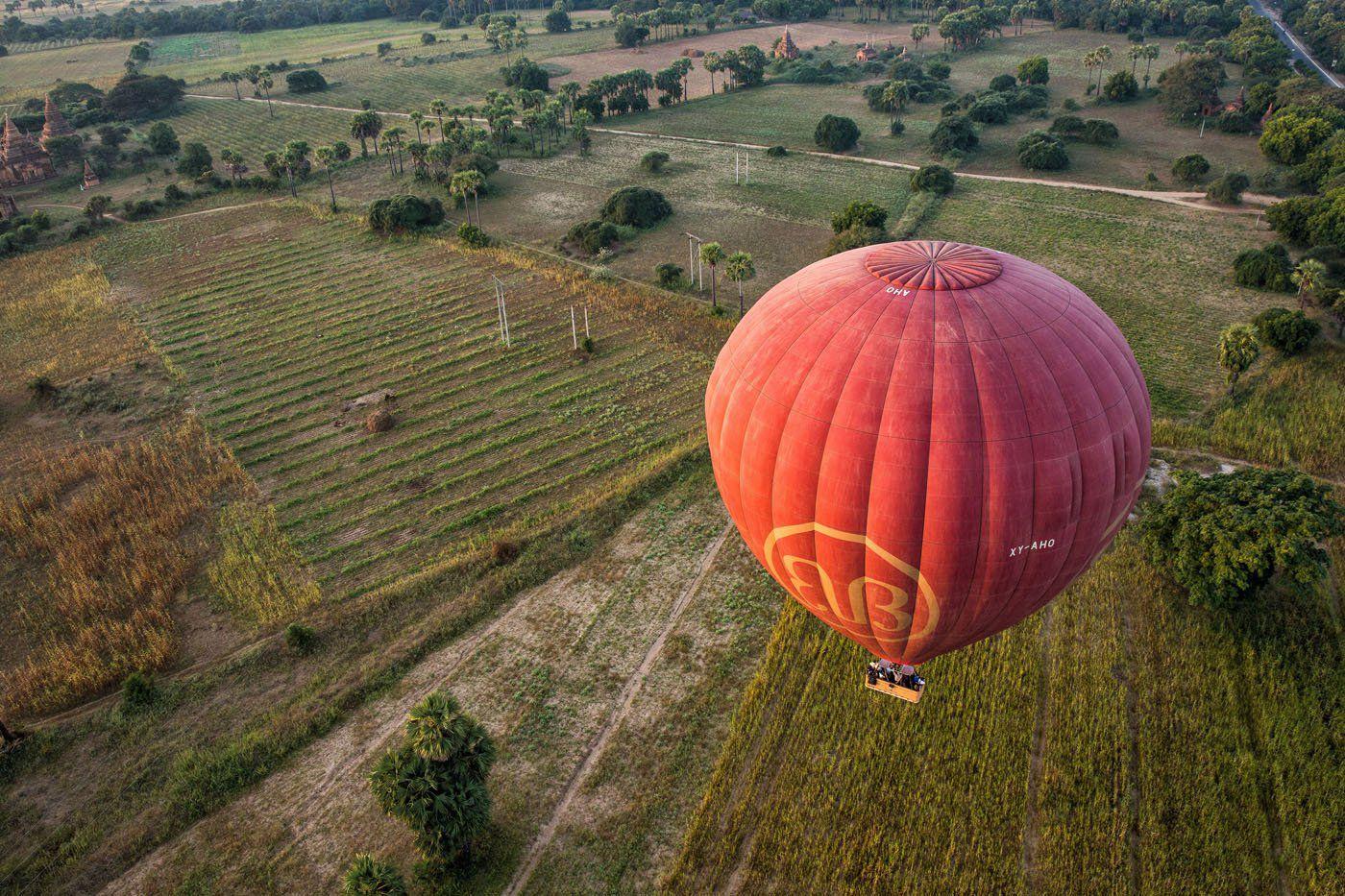 Balloons over Bagan Myanmar