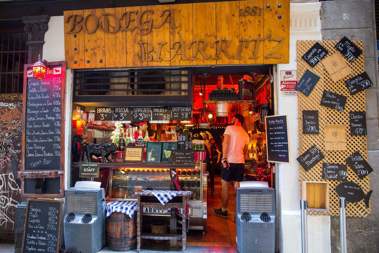 Bodega Biarritz 1881