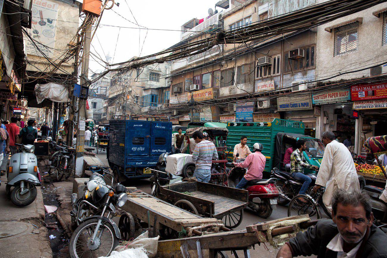 Delhi Street India
