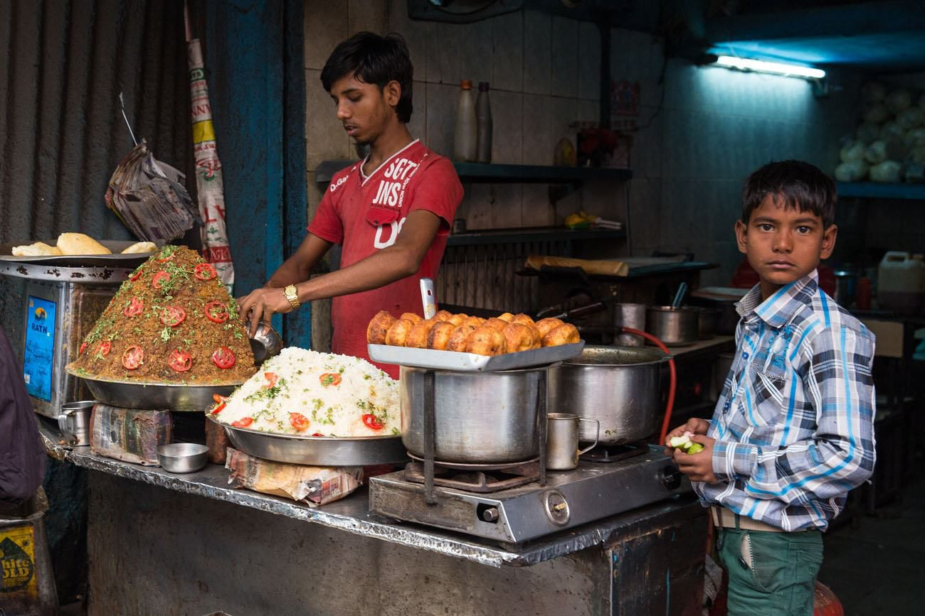 Food stand India