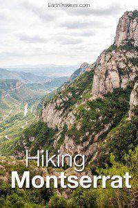 Hiking Montserrat Spain