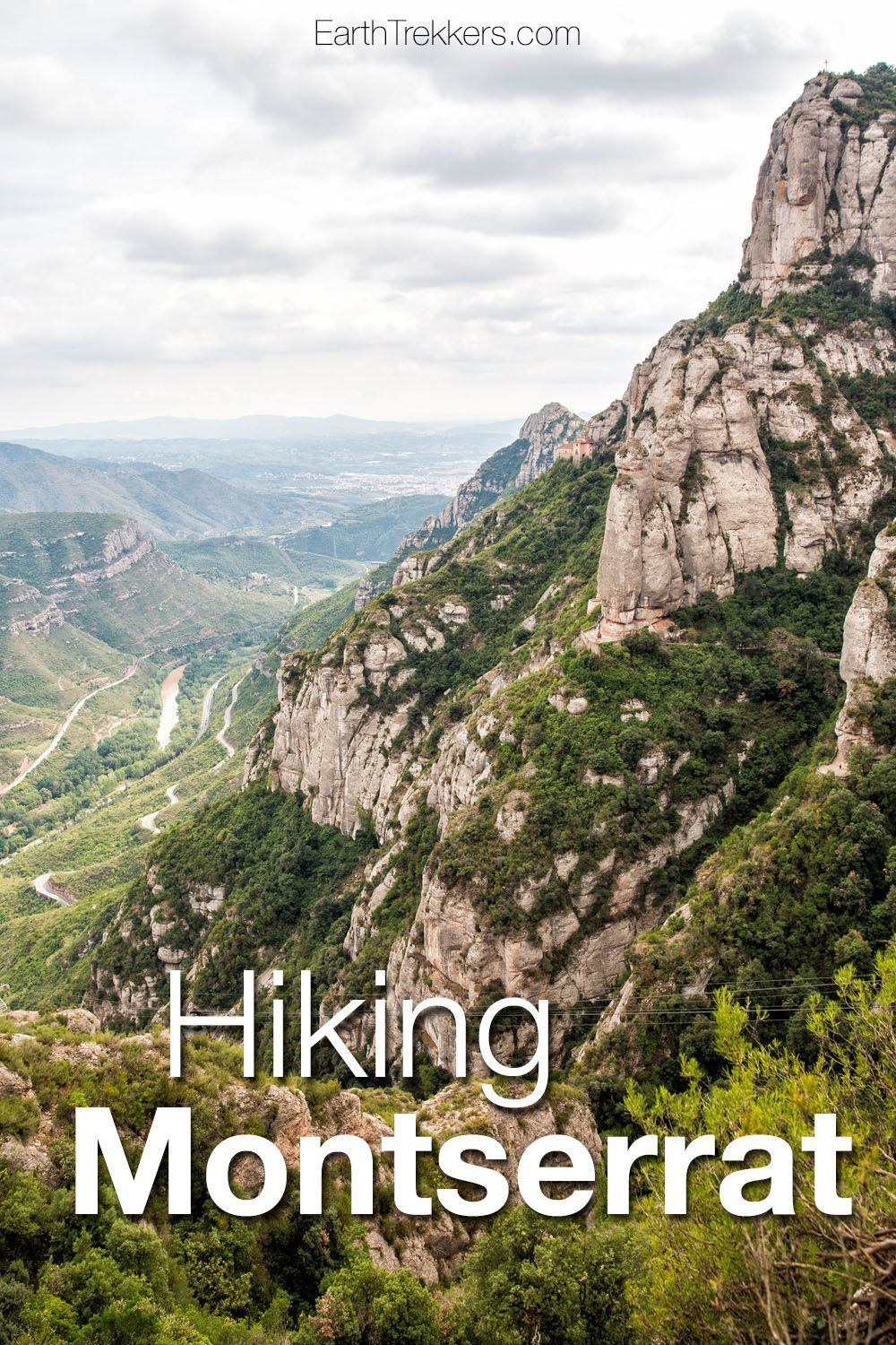 Hiking Montserrat Spain