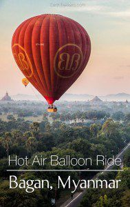 Hot Air Balloon Ride Bagan Myanmar