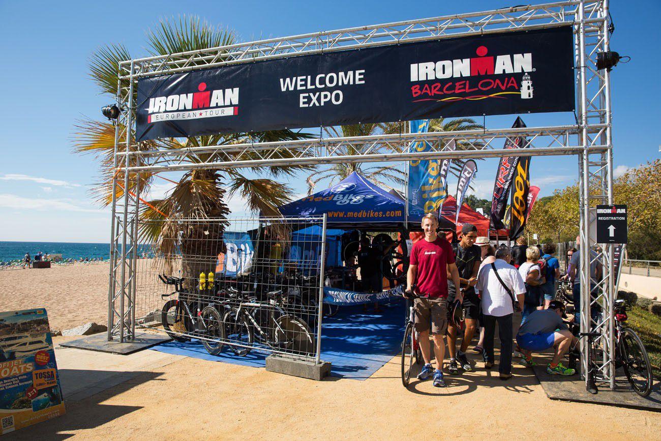 Ironman Barcelona Expo