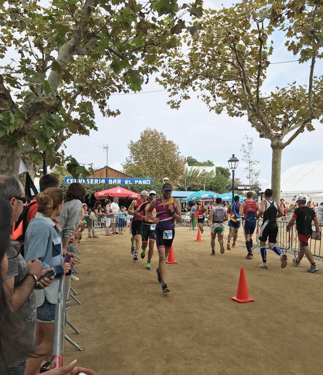 Ironman Barcelona run